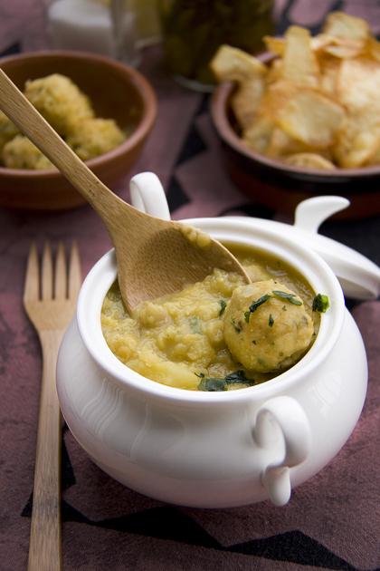 Dahl Maharani (zuppa di lenticchie e ceci) part