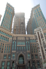 The Abraj Al-Bait Towers also known as the