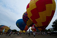Hot Air Balloon Fiesta 2010 (7) (QooL / بنت شمس الدين) Tags: hotair balloon putrajaya qool 5125 qoolens fiesta2010