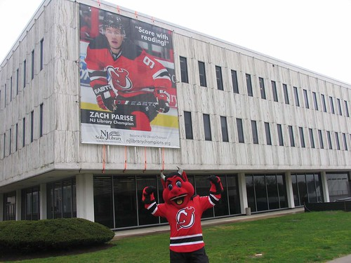 NJ Devils Mascot Heats up Trenton