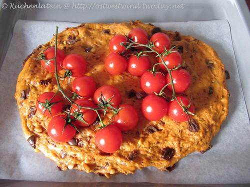 Focaccia mit Tomaten 001