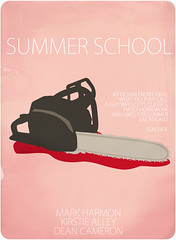 summer school (madfishes) Tags: movie poster 80s redesign summerschool