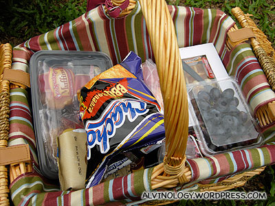 Our picnic basket