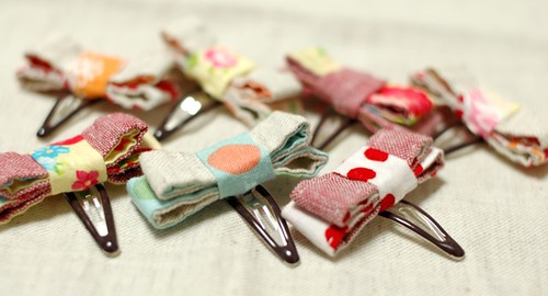 Hair clips for little girl