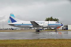 N41527 CV-440 Miami Air Lease (eigjb) Tags: airport florida miami aircraft aviation piston usaf metropolitan prop airliner kopf opf convair cv440 propliner opalocka c131 n41527 554759 tc131e cv44072 airlease