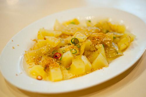A dish of pickled vegetables, Tang Jua Lee, Bangkok