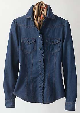 Denim dresses sp 2010 bogner shirt