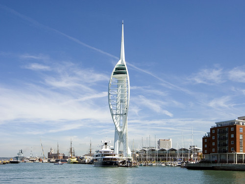 Image Spinnaker Tower, Copyright ©