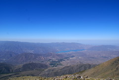 High up in the Andes
