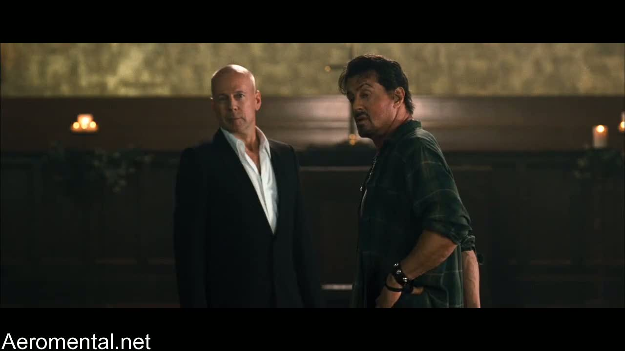 The Expendables Bruce Willis Sylvester Stallone