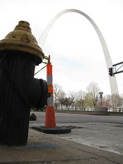 A Hydrant near the Gateway Arch