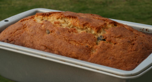 Cooking with Kids: Chocolate Chip Banana Nut Bread