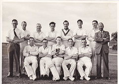 Priory Sports Cricket Club circa 1962