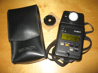 Minolta auto meter ivf iv f flash meter lezot camera | sales and.