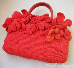 red flowered bag (1) (creationsbyeve) Tags: flowers red bag europe handmade buttons crafts greece homemade cotton handcrafted etsy boho artisan crafting accessory handmadegifts handcraftedgifts europeanstreetteam leatherhandles creationsbyeve etsygreekteam
