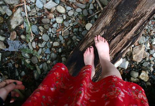 i have weird feet