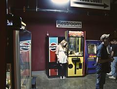 (yyellowbird) Tags: girl kentucky arcade machine chillin pepsi cari fleamarket cranegame strangerboy
