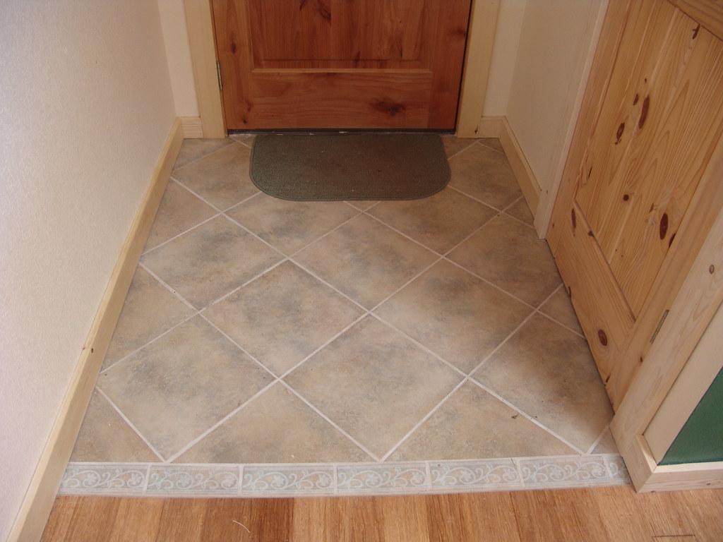 Porcelain Tile Entry