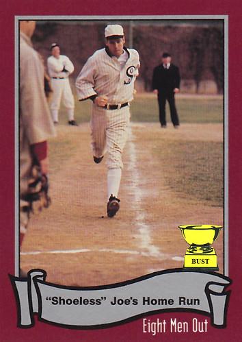 Baseball Card Bust Db Sweeney Aka Shoeless Joe Jackson
