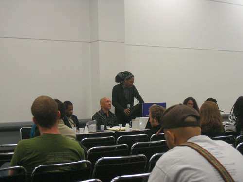 Gar Patterson at the Black Nature panel