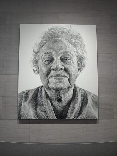 """Fanny"" by Chuck Close"