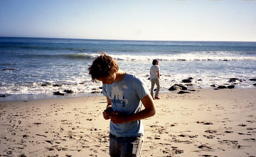Thomas and Shane, La Piedra Beach, Malibu
