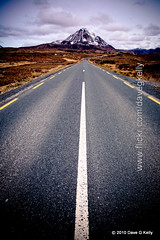 The Long Road (Dave G Kelly) Tags: road travel ireland winter irish mountain mountains rural canon landscape outside outdoors drive countryside vanishingpoint highway scenery driving outdoor country scenic peak scene 5d remote canon5d bog picturesque sevensisters closeencounters height donegal whiteline hiway ulster countydonegal errigal mountainous codonegal gweedore mounterrigal canoneos5d straightline traveldestination dunlewy derryveaghmountains republicireland dublinphotographer dnnangall errigalmountain davegkelly gettyimagesirelandq1