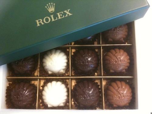 Rolex-Pralinen