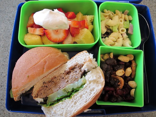 Bento Box Lunch - 4/15/10