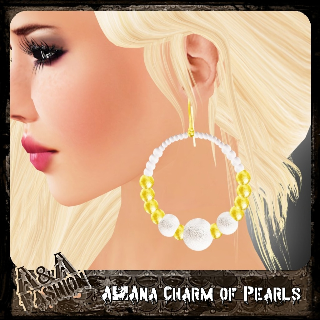 A&Ana Charm of Pearls Earrings [coming soon]