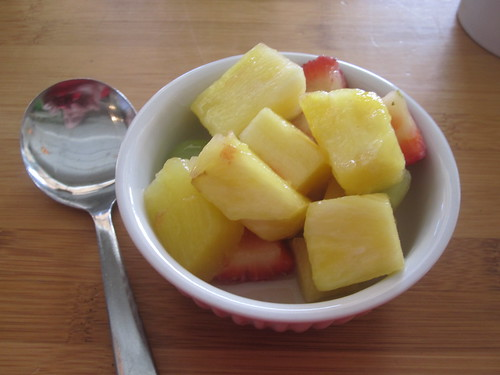 Fruit salad from bistro lunch