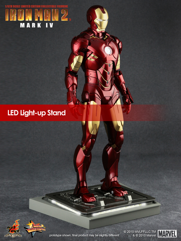 Iron Man 2 Mark IV LED Lights