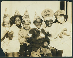 nyhs_cas_b-975_f-11_002s_w (New-York Historical Society Library) Tags: newyorkcity school 1920s newyork halloween children blog africanamerican nurseryschool childrenscenter socialreform childrensaidsociety africanamericanchildren atennysonbeals