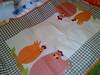caminho de mesa (Dipano Ateliê) Tags: de galinha pano patchwork prato cozinha jogos tecido aplicação apliqué dipano