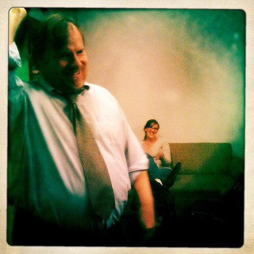 Backstage with Kevin Farley at Hollywood Dreamrole