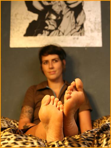 Punk Foot Fetish