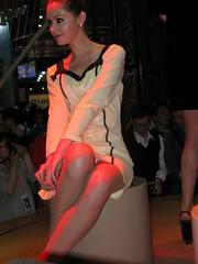Shenzhen under wear model (zikay's photography(no PS)) Tags: girl model underwear exhibition 模特 内衣 走光 露底