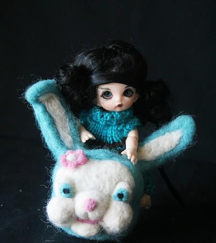 nouveau bunny en préparation avec Gazette