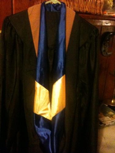 hood and robe