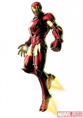 Marvel vs Capcom 3 Fate of Two Worlds Iron Man Promo Art