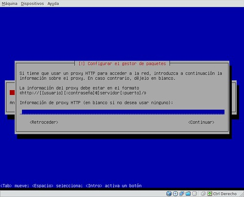 Configurar proxy repositorios