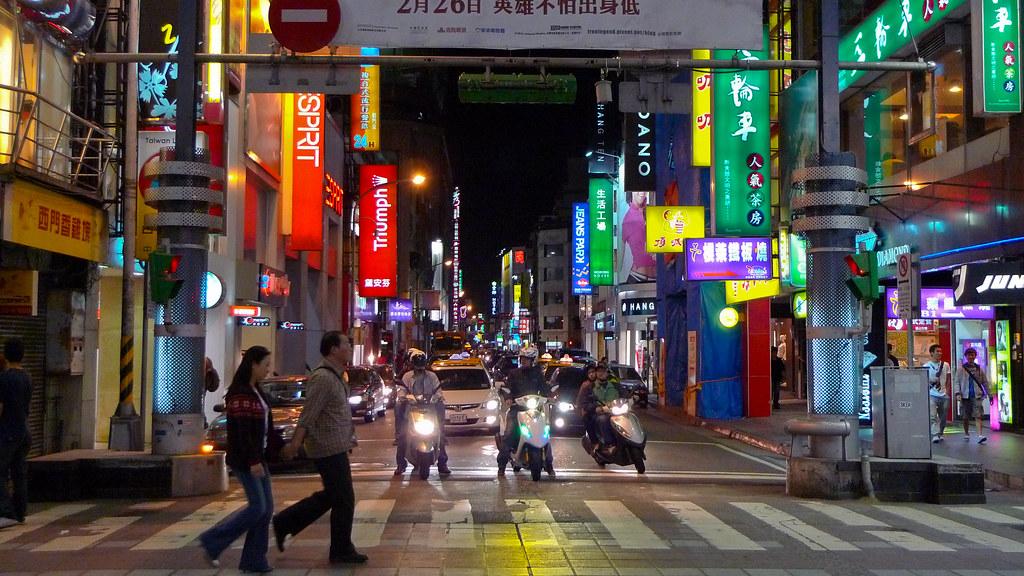 Neon Crossing
