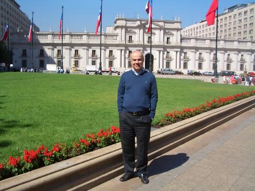 Edoardo Croci a Santiago del Cile: il parlamento cileno, marzo 2008