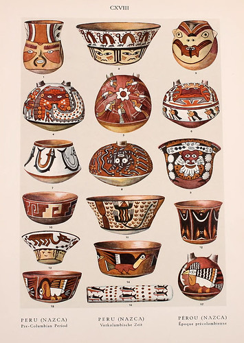 033-Peru Nazca epoca Precolombina-Ornament two thousand decorative motifs…1924-Helmuth Theodor Bossert