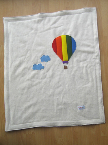 Balloon-y baby blanket