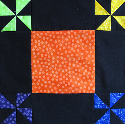 Pinwheel Party Block 9
