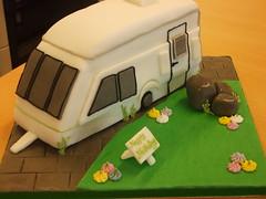 Caravan cake (trulycrumbtious) Tags: camping cake novelty caravan tourer