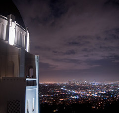 you're one in a million, babe. (red.dahlia) Tags: skyline night losangeles cloudy downtownla gunsnroses oneinamillion griffithparkobservatory nikond90