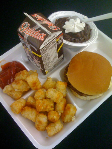 Classic school lunch. Yum.