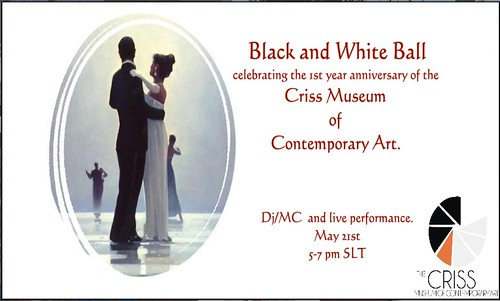 black and white ball on may 21st